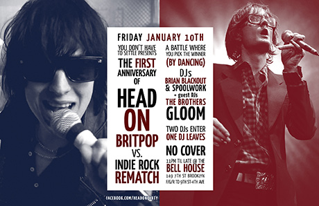 Head On: Britpop vs Indie Rock