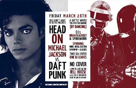Head On: Michael Jackson vs Daft Punk